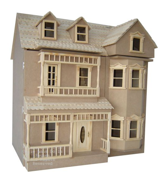 Case la casa delle bambole for Case di kit vittoriano