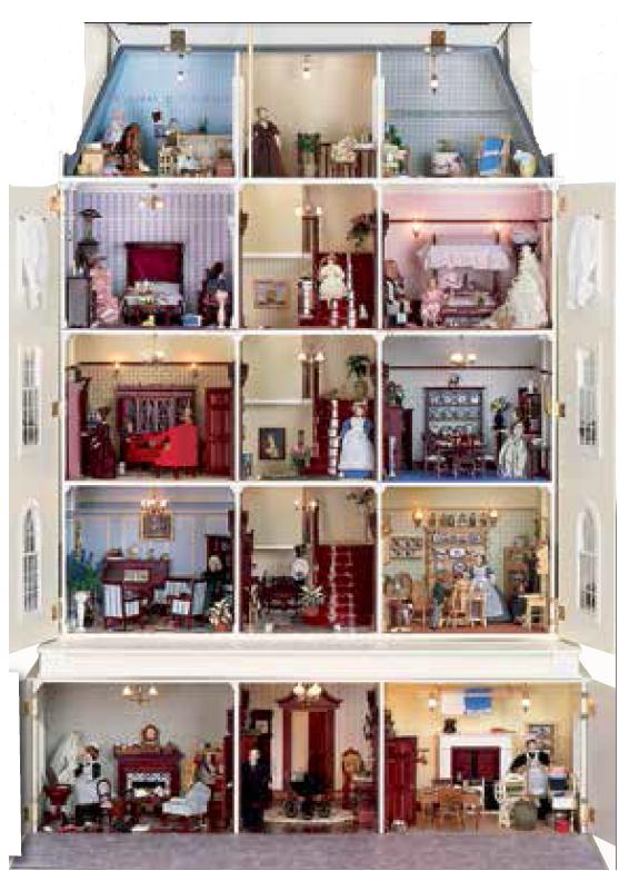 Case la casa delle bambole for Case fabbricate in stile vittoriano